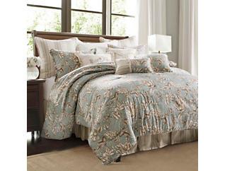 4 Piece Grammercy Queen Comforter, , large