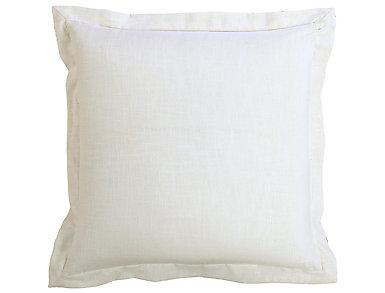 White Linen Euro Sham, , large