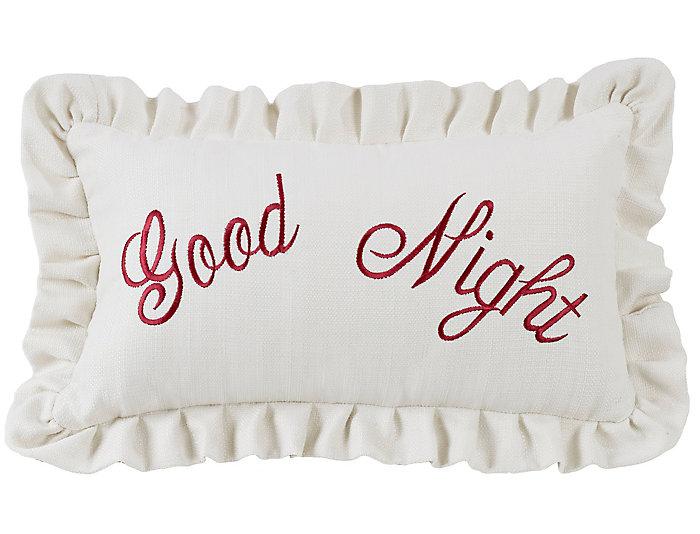 Good Night 12x21 Pillow, , large