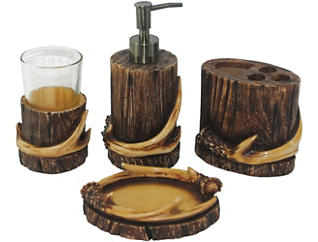 Axis Antler 4 PC Bath Set, , large