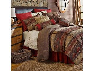 6pc Sierra King Comforter Set, , large