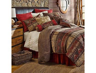 6 Piece Sierra King Comforter Set, , large