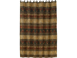 Bear Sierra Shower Curtain, , large