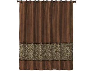Highland Ledge Shower Curtain, , large