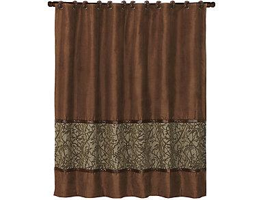Highland Ledge Shower Curtain, , large