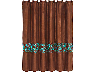 Wyatt Shower Curtain  72 X 72, , large