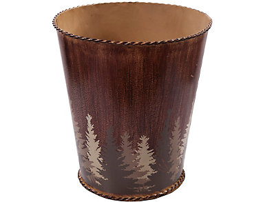 Clearwater Pines Waste Basket, , large