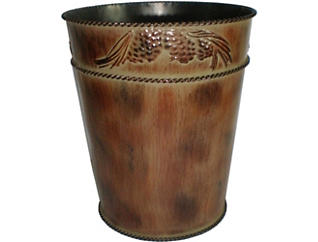 Forest Pines Waste Basket, , large