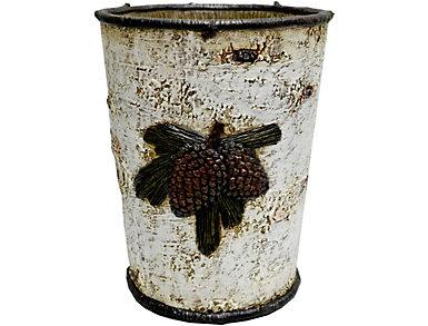 Pinecone Waste Basket, , large