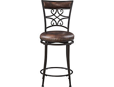 Seville Swivel Counter Stool, , large