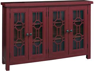 Bayside Brick 4 Door Cabinet, , large