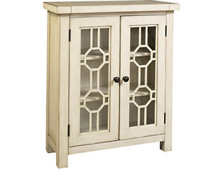 Bayside White 2 Door Cabinet, , large