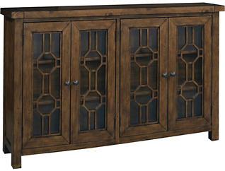Bayside Pine 4 Door Cabinet, , large