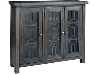 Bayside Grey 3 Door Cabinet, , large