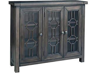 Attractive Bayside Grey 3 Door Cabinet