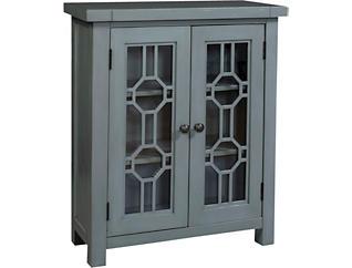 Bayside Blue 2 Door Cabinet, , large