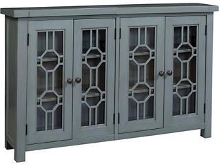 Bayside Blue 4 Door Cabinet, , large