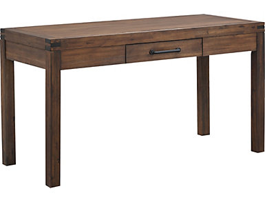 "St. Croix 56"" Walnut Desk, , large"