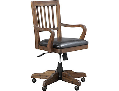 St. Croix Walnut Office Chair, , large