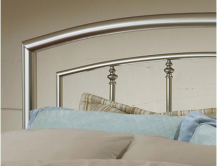 Claudia Queen Metal Bed, , large