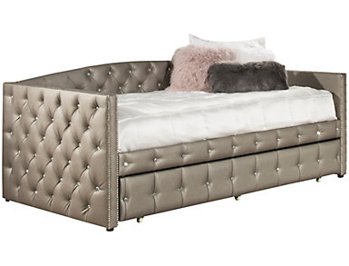 Memphis Upholsted Daybed with Trundle, , large