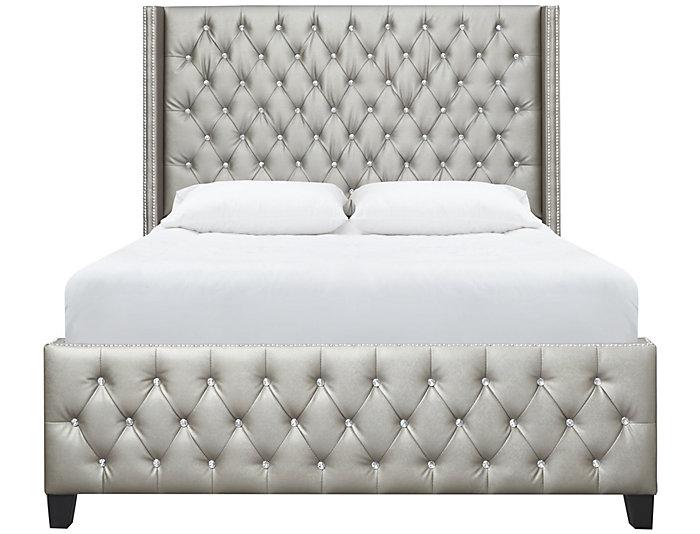 Memphis Queen Upholstered Bed | Art Van Home