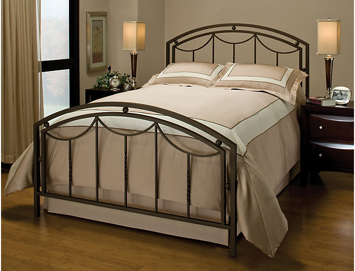 Arlington Queen Metal Bed, , large
