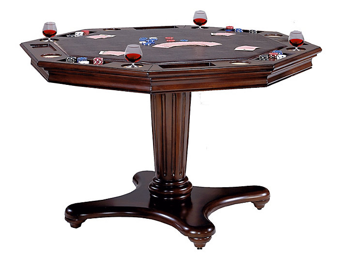 Ambassador Adj. Game Table, , large