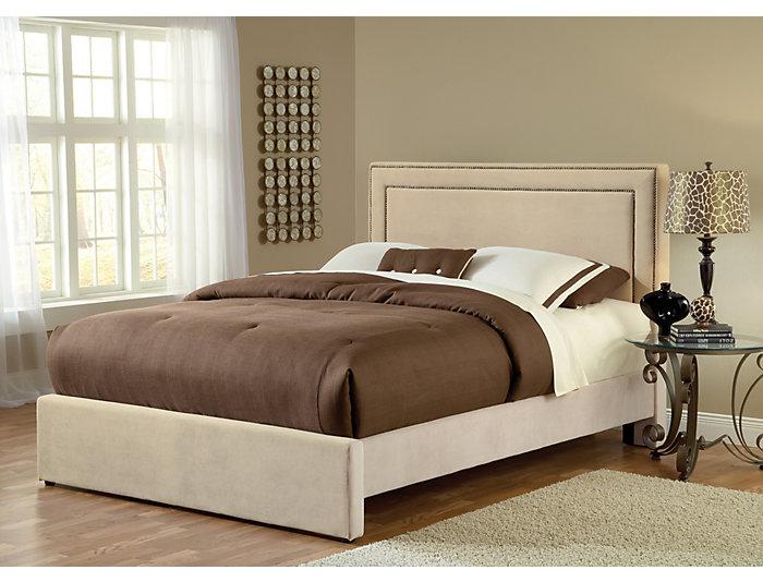 Amber King Upholstered Bed, , large