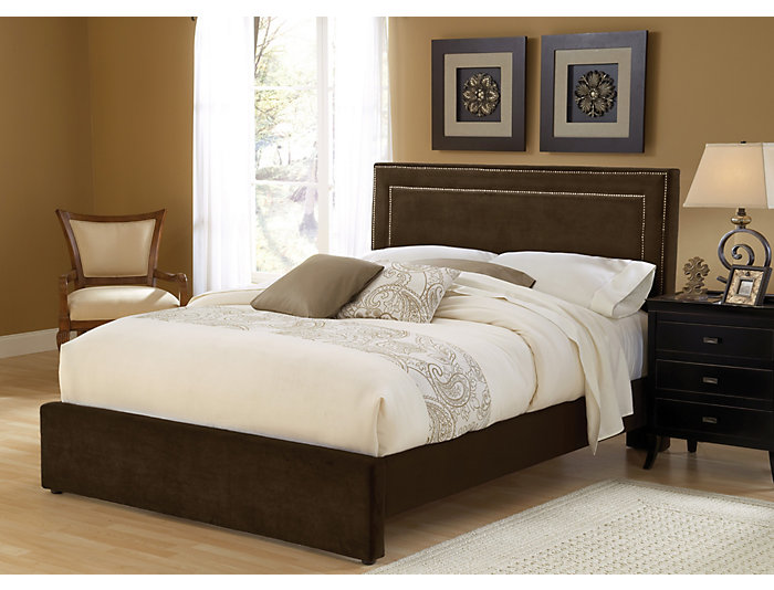 Amber Queen Upholstered Bed, , large