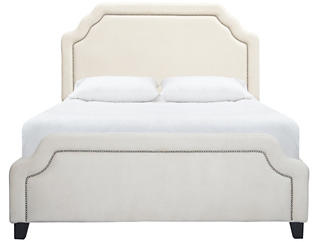 Carlyle King Upholstered Bed, , large