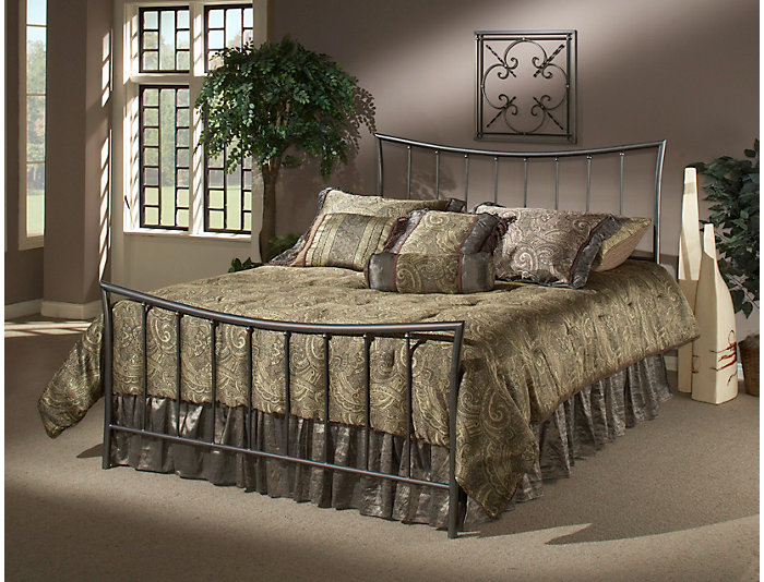 Edgewood Full Metal Bed, , large