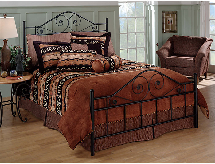 Harrison Full Metal Bed, , large