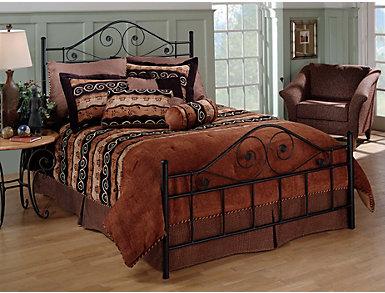 Harrison Full Metal Bed, , large