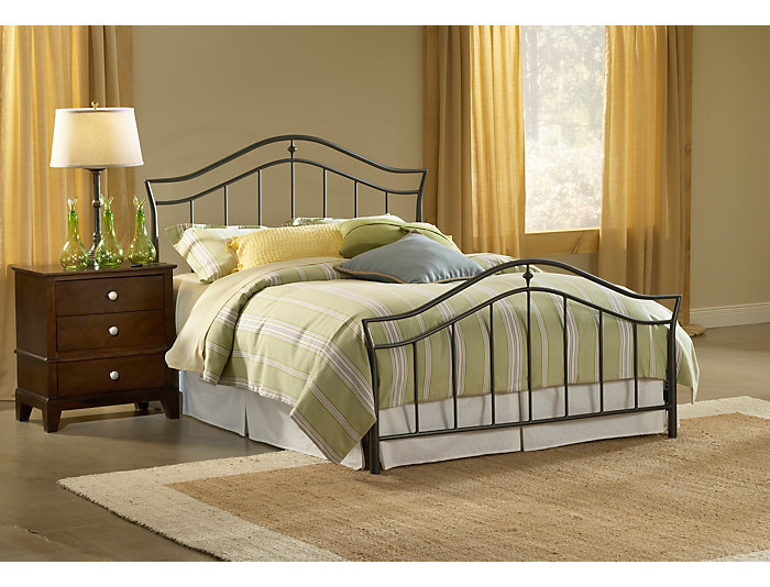 Imperial King Metal Bed, , large