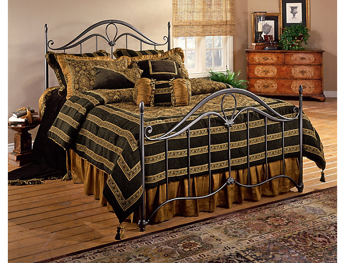 Kendall Full Metal Bed, , large
