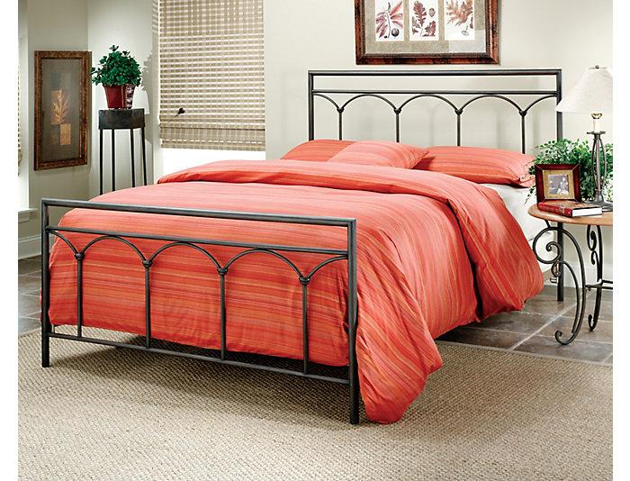 McKenzie King Metal Bed, , large