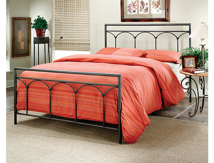 McKenzie Queen Metal Bed, , large