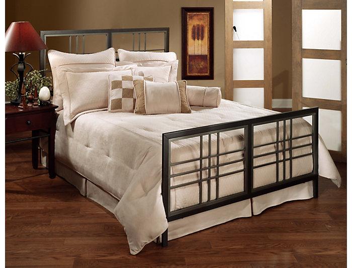 Tiburon Twin Metal Bed, , large