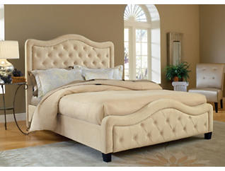 Trieste King Upholstered Bed, , large