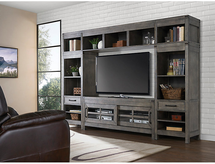 """St Croix Grey Wall with 64"""" TV Stand, , large"""