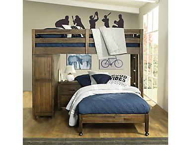 St.Croix Loft w/3/3 Caster Bed, , large