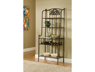 Marsala Grey Baker's Rack, , large