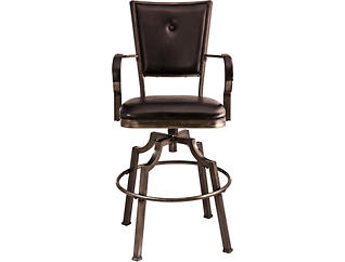 Castle Swivel Counter Stool, , large