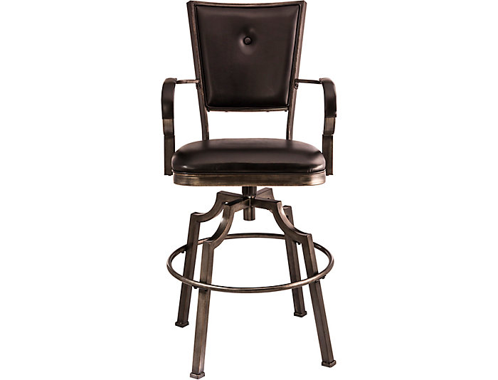 Castle Swivel Bar Stool, , large