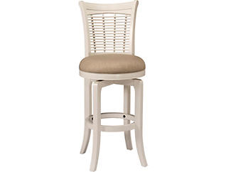 Bayberry Swivel Bar Stool, , large