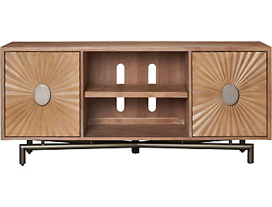 """Avery 64"""" Console, Distressed Taupe, , large"""