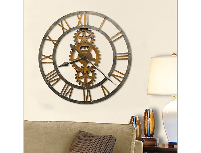 Walker Wall Clock, , large