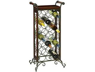 Luanne Cherry Wine Rack, , large