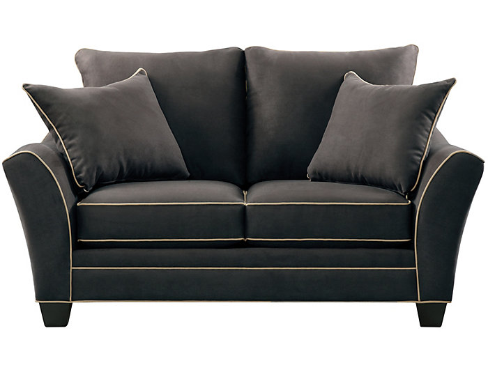 Dillon Loveseat, Slate, Slate, large